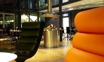 Connect Hotel Arlanda living room