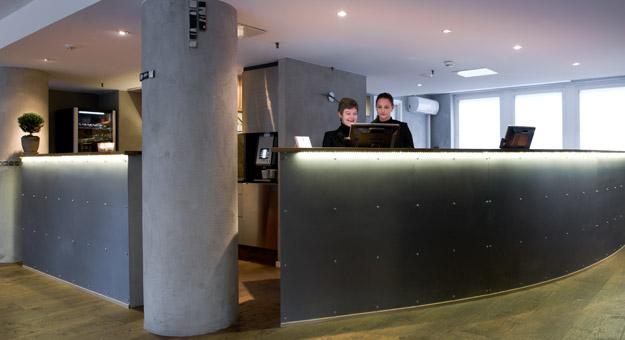 Hotel Tegnerlunden reception